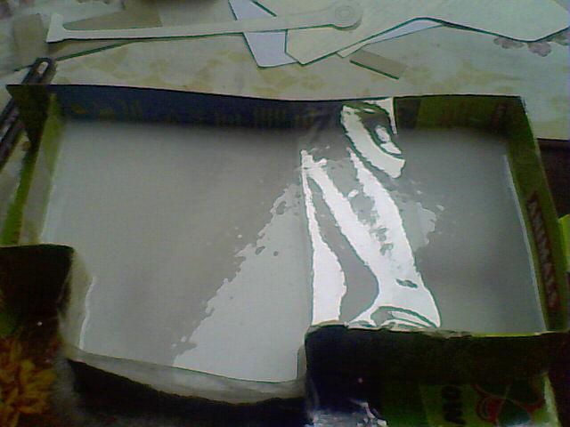 Modele zalane silikonem.