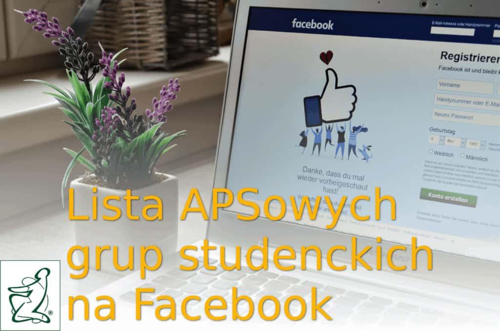 Grupy Studentów na APS